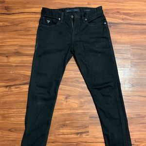 GUESS Slim Tapered Black Jeans